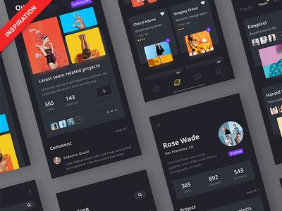 50 Best Chat UIs & Interaction Design Inspiration 2k18 inspiration design interaction ux ui chat dribbble