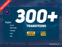 Transitions Pack – Premiere Pro Templates tutorial resources package design effect after premier pro after effect slideshow ux inspiration mockup free designer ui creative template freebies download