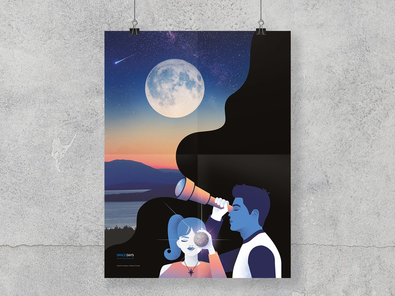 ...about the Moon part III neilarmstrong spacedays danish poster werock mission lunar crew apollo50th apollo11 dreams future cosmos space astronomy aerospace moon poster design illustration graphic design