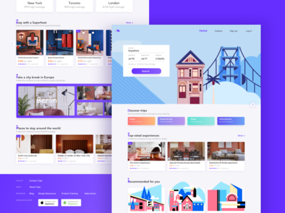 Homestay Web Design