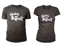 2 x Driven Detroit shirts