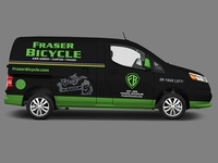 Fraser Bicycle : Bike Shop Van