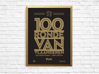 100 Ronde Van Vlaanderen Poster