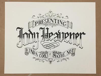 Hi everyone! hand lettering