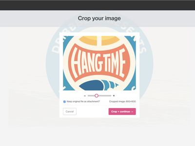 A metric crop-ton of updates shots dribbble cropped