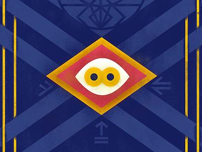 The Mummy occult geometric austin hollywood illustration movie egyptian eye texture fjord poster mummy