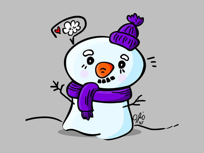 Untitled 1l photoshop illustraion illustrator snowman