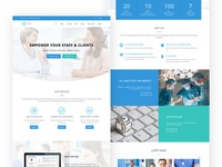 All Rounder - Homepage Design