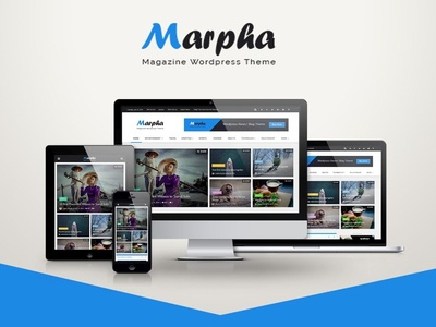 Marpha - Magazine Wordpress Theme
