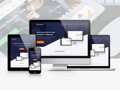 Convergetree - Website Design