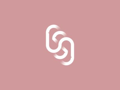 OSO letter s o type vector white icon minimal design logo graphic