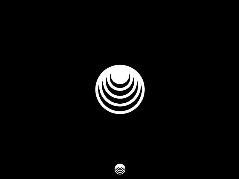 Stack circle daily dlc minimal icon logo design graphic