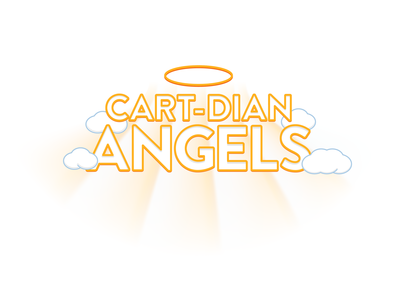 Cartdian Angels Text type heaven glow halo angel text