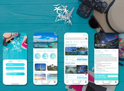 LeisureTrip - An Open Trip App