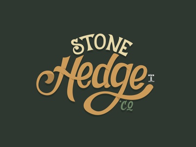 Stone Hedge; logotype vintage typeface design display font lettering daily logotype lettering art lettering