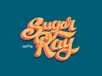 Sugar Ray lettering daily digital lettering typeface design fonts vintage logotype custom lettering lettering art display font
