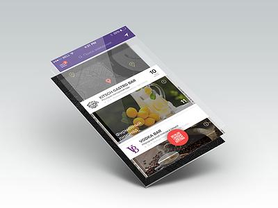 AdviceWallet application.app application app iphone chek-in list map