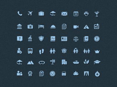 Tui Icons icons travel
