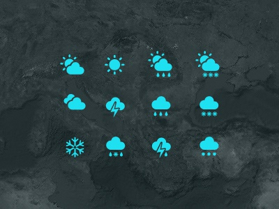 Weather Icons icons weather