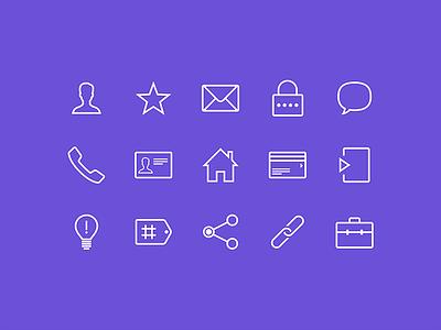 OftenType Icons app simple icons