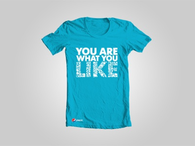 You are what you like t-shirt pepsi