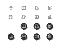 Maps icons