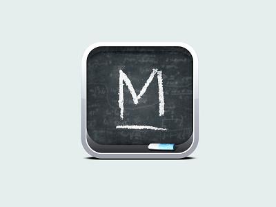 Mathtick Icon icon app retina game chalk