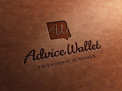 Advice Wallet logo logo wallet web id