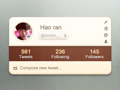 Twitter Widget twitter widget