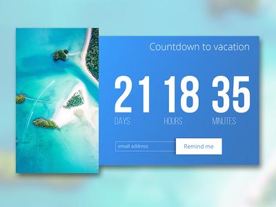 Daily UI - Countdown timer #dailyui