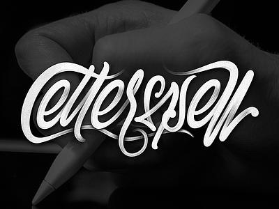 LETTERSPELL procreate ipadlettering brushlettering typography typedesign type script letters lettering hand-draw