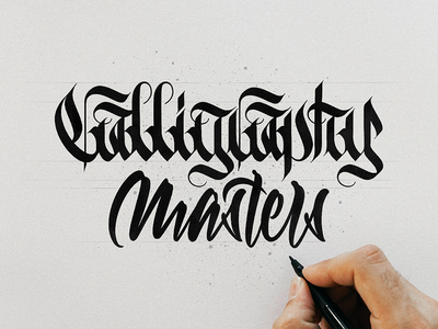 Calligraphy masters