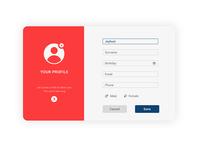 Your profile UI