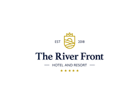 The River Front Hotel and Resort Logo