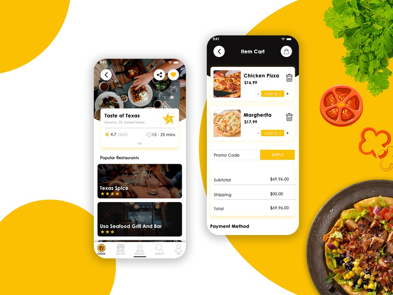 On Demand Food Delivery App | Delivery App | UIUX ios app development android app development mobile app development food on demand app food delivery app food app on demand food app