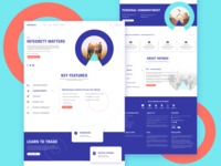 INFINOX /Landing page