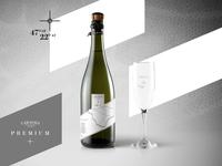 Carassia label design