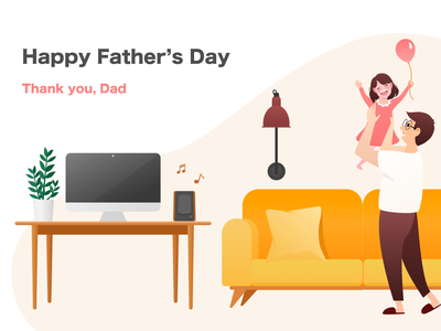 Happy Father's Day ui