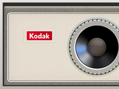 old camera - early draft wip kodak rough draft