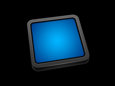 Frame with perspective frame icon app application mac desktop dark newb