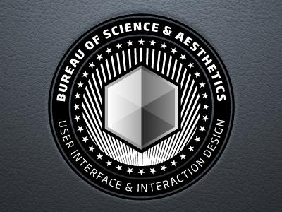 We The Bureau bureau science aesthetics pseudo government agency branding stars stripes cube haxagon soho leather