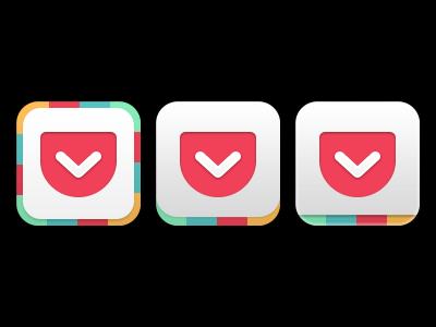 Get Pocket - Alternative Icon pocket ios icon no disrespect