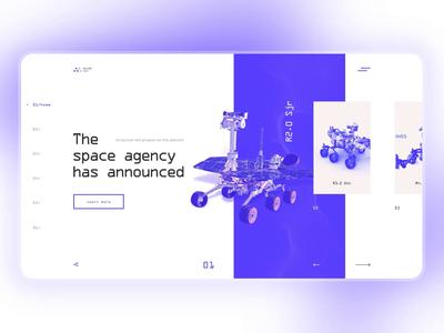 Machine Tech clean webdesign branding blue design ux motion case study animation ui