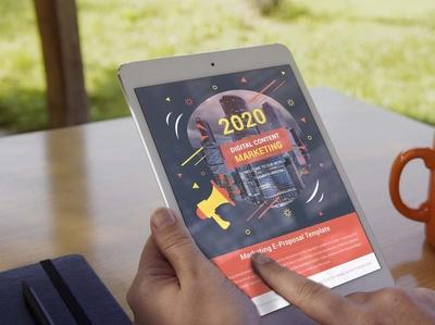 eBook Corporate  Content Marketing Proposal