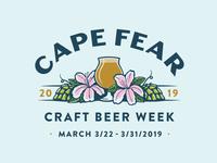 Cape Fear Craft Beer Week Logo