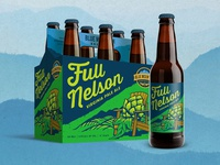Blue Mountain Brewery Packaging redesign