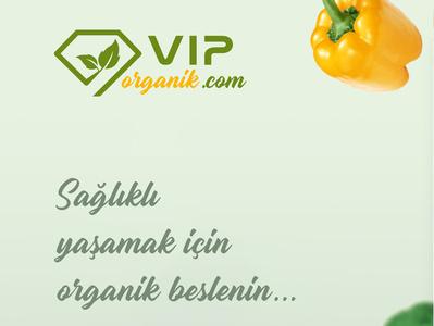 VIP Organik vector illustration flat logodesign illustrator logo logo design graphicdesign grafik tasarım