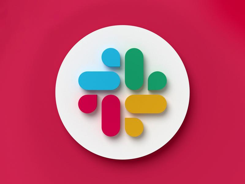 Slack 3D Icon branding redesign icon set icon icon design web design web icons 3d icon 3d slack app slack