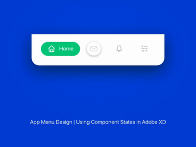 Mobile Menu Bar Interaction ui interaction adobexduikit adobexd mobile motion homepage ui animation concept mobile app toggle button menu animation app ui icon animation icons ui design menubar