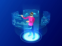 VR Dashboard animation!